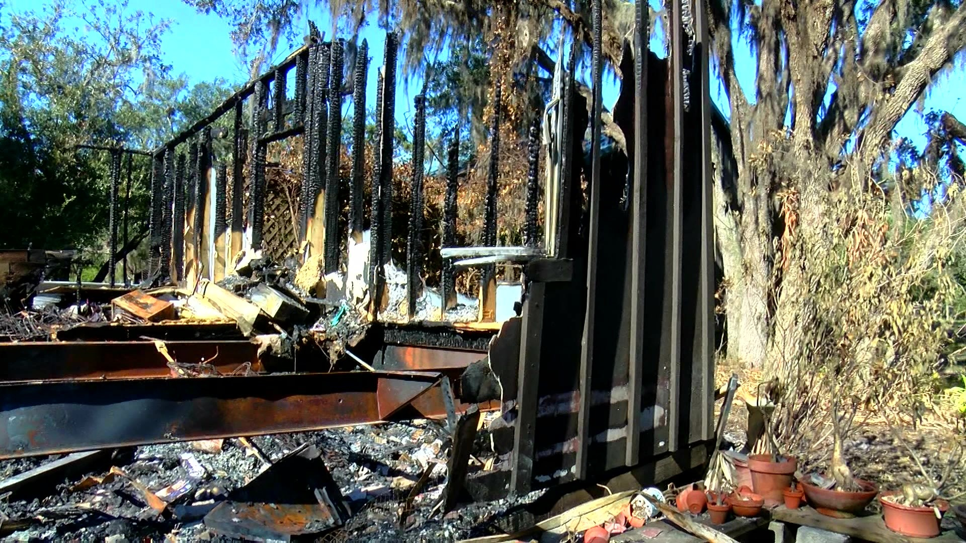 Polk County family loses dog, home after devastating fire