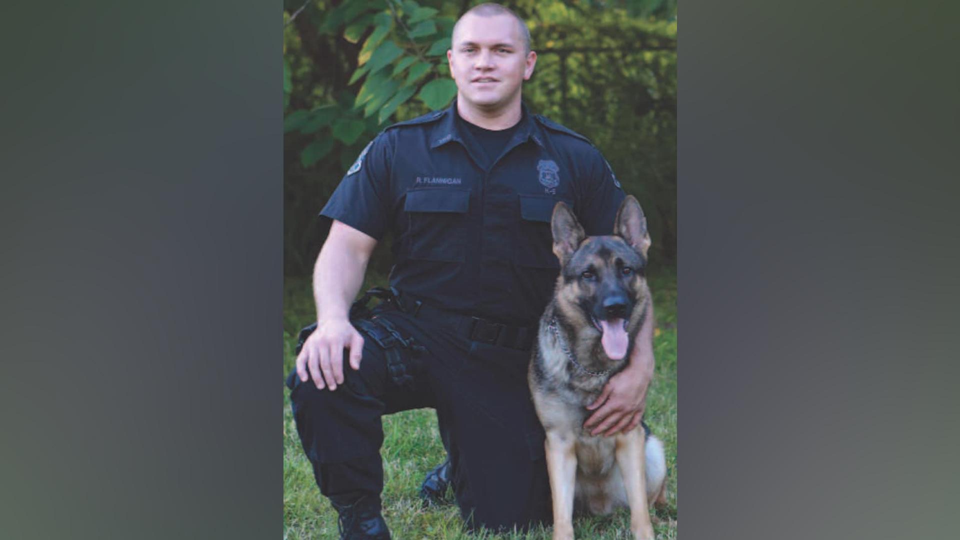 Tampa police K-9 dies of natural causes week before retirement