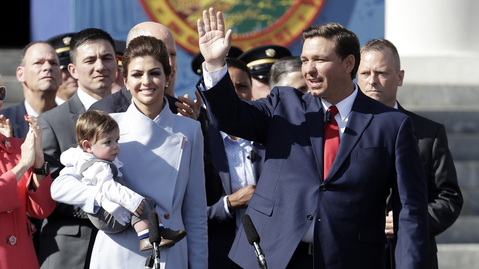 Governor Ron DeSantis Sworn In Florida