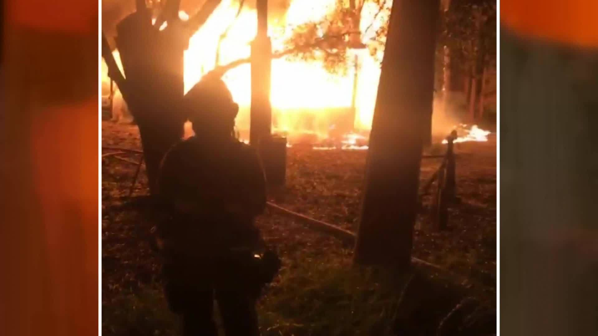 polk fire new video