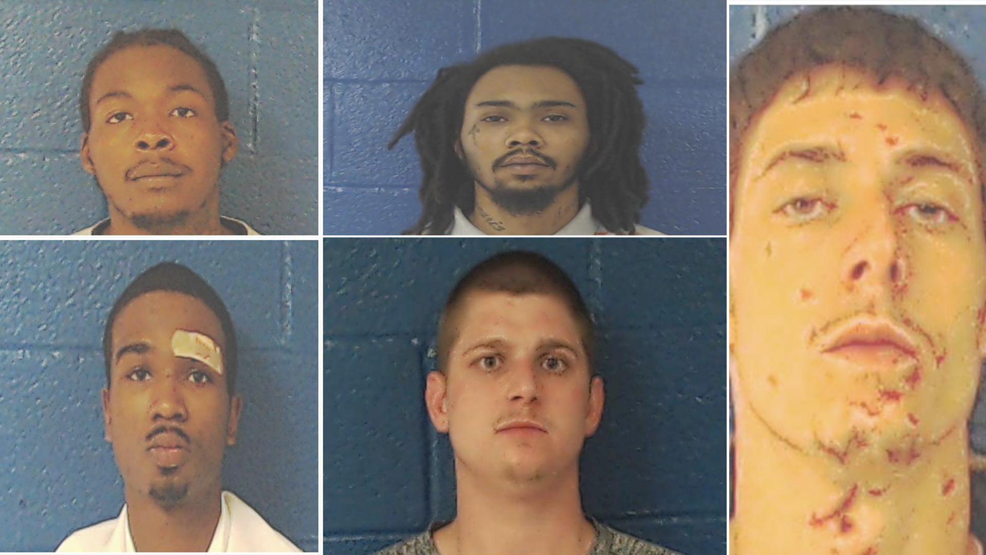 5 inmates breakout of North Carolina jail_1553551194485.jpg.jpg
