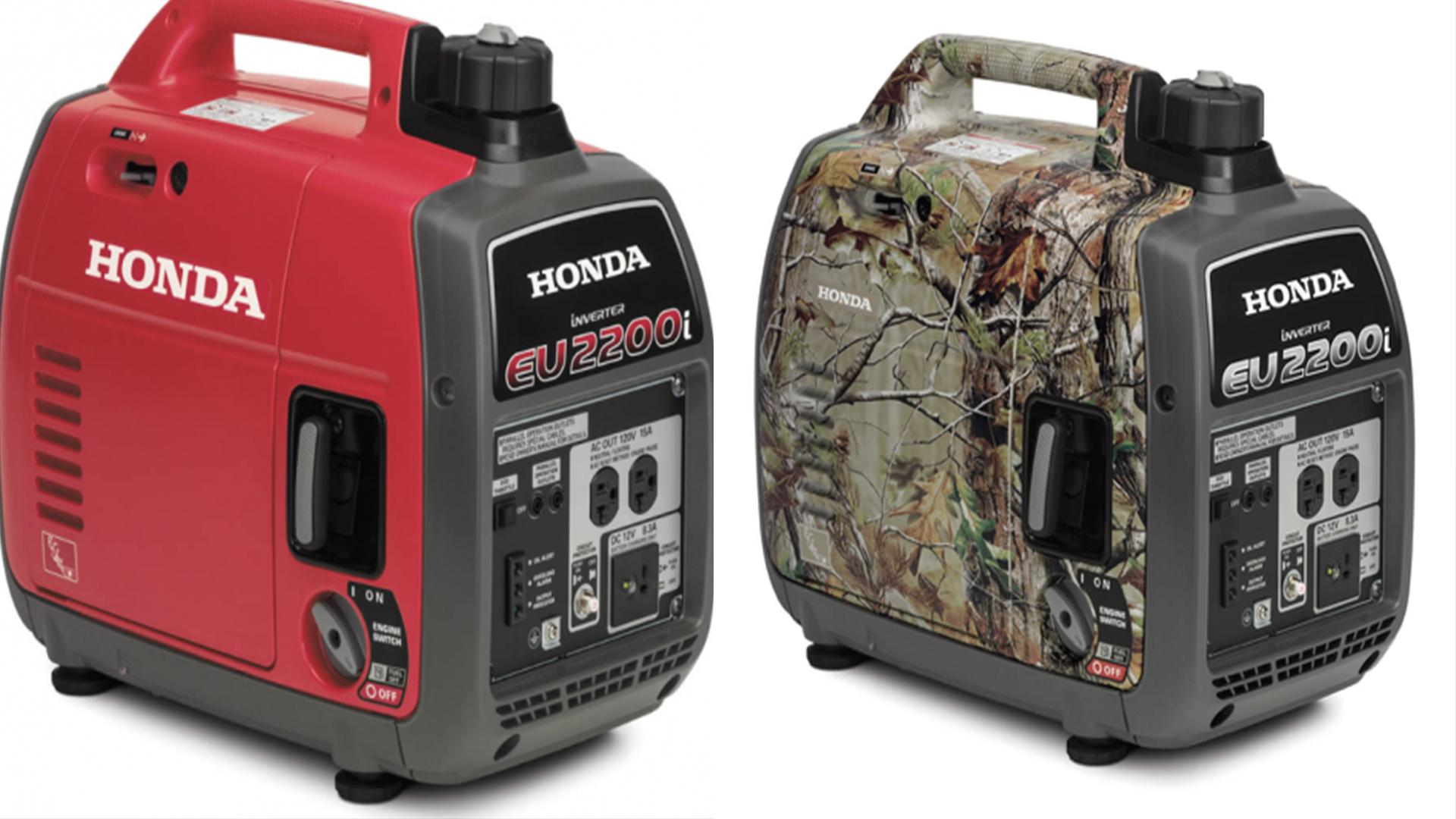 Honda recalls 200K generators due to potential gas leak