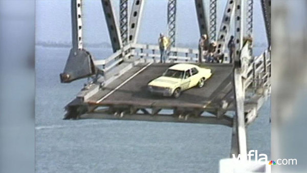 1980 Sunshine Skyway Bridge crash, collapse