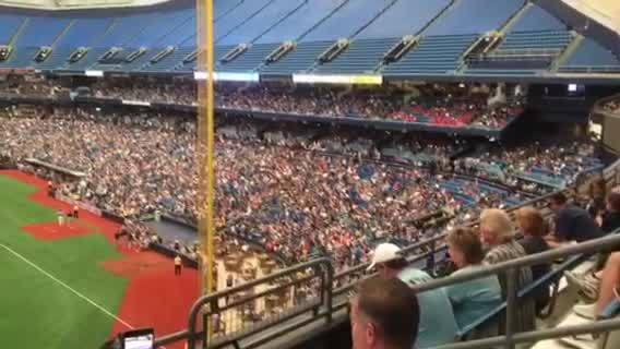Power outage delays Rays game Sunday