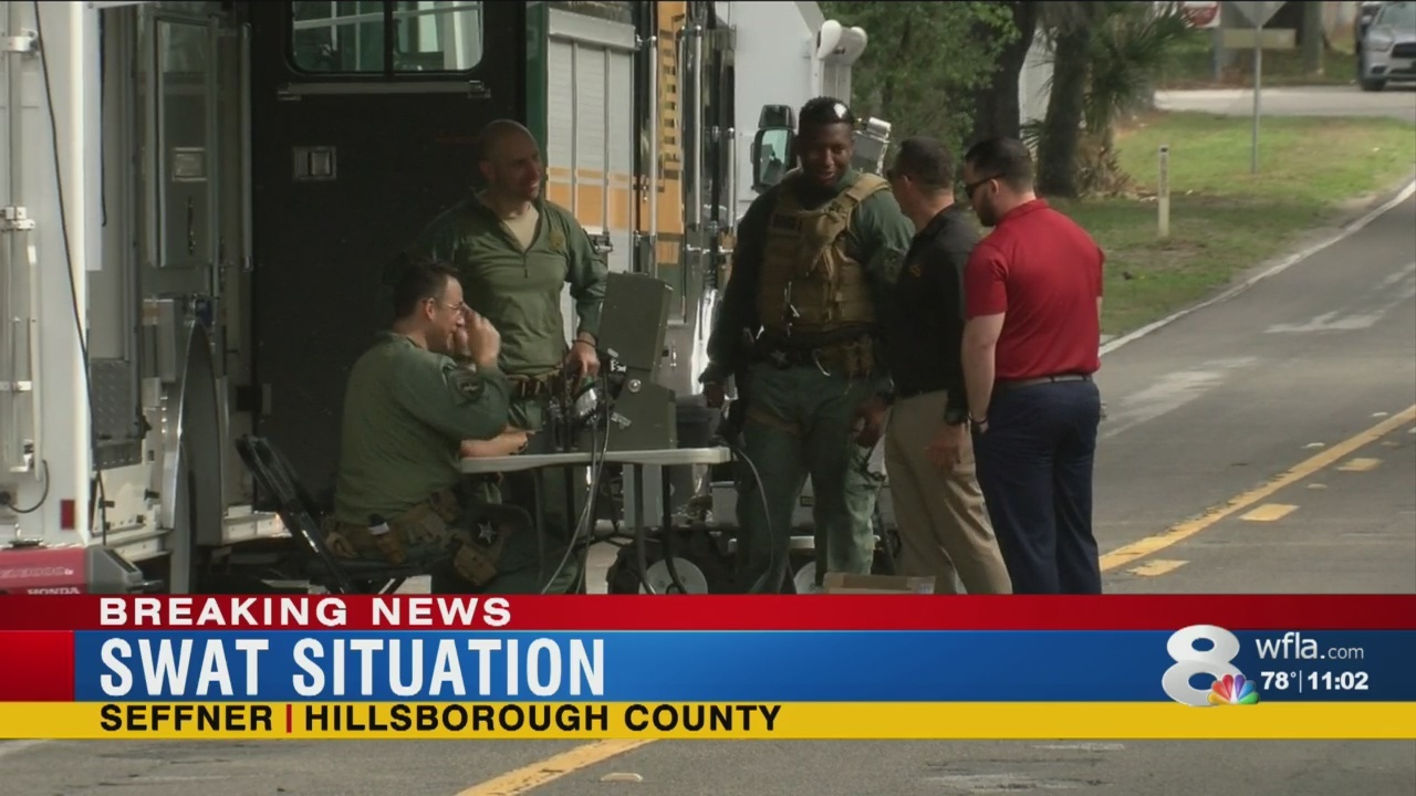 SWAT situation in Hillsborough County