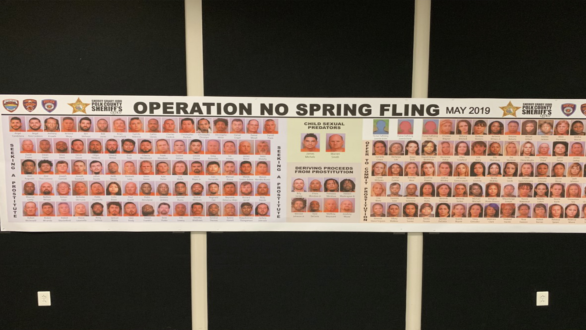 154 arrested in undercover sex sting in Polk County