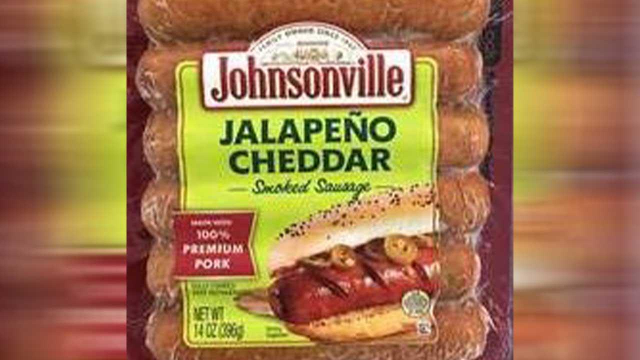 Johnsonville recalls more than 95,000 pounds of smoked sausage
