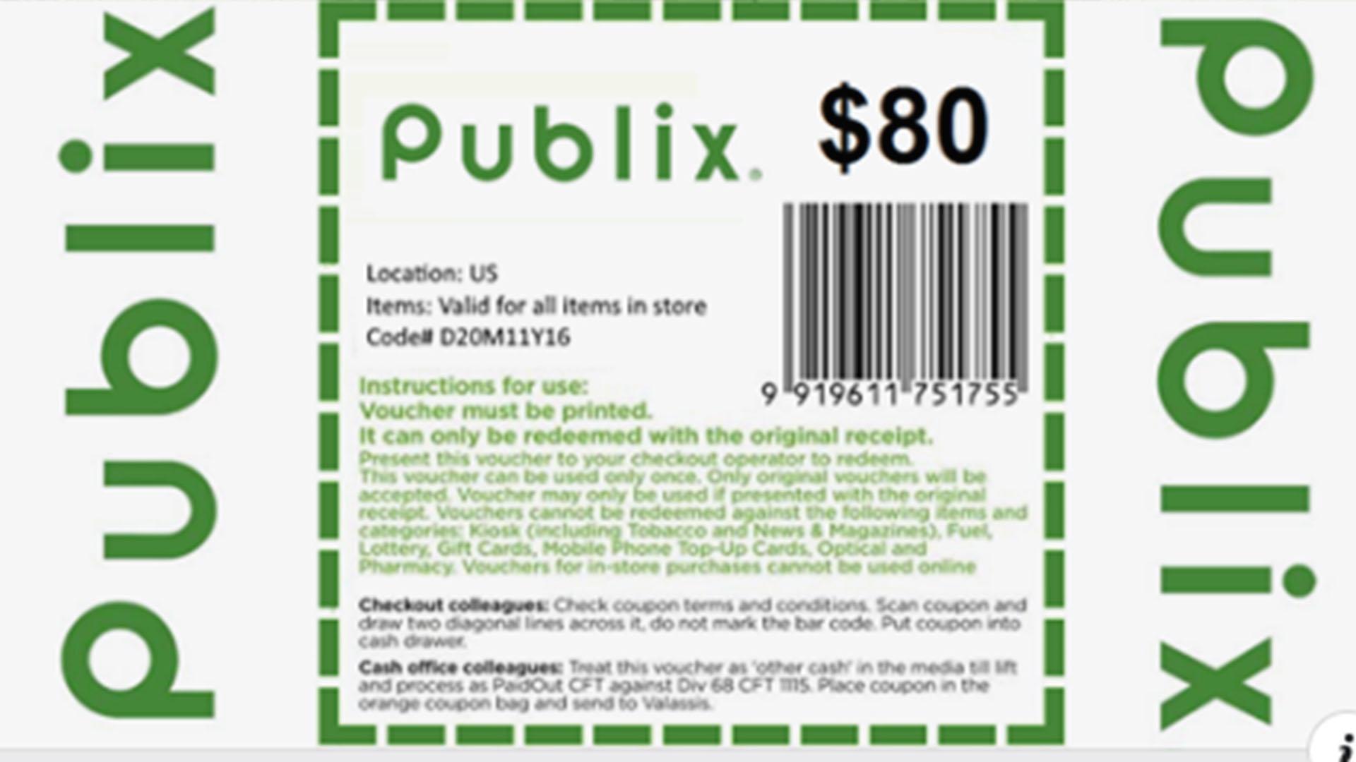 publix coupon phone app
