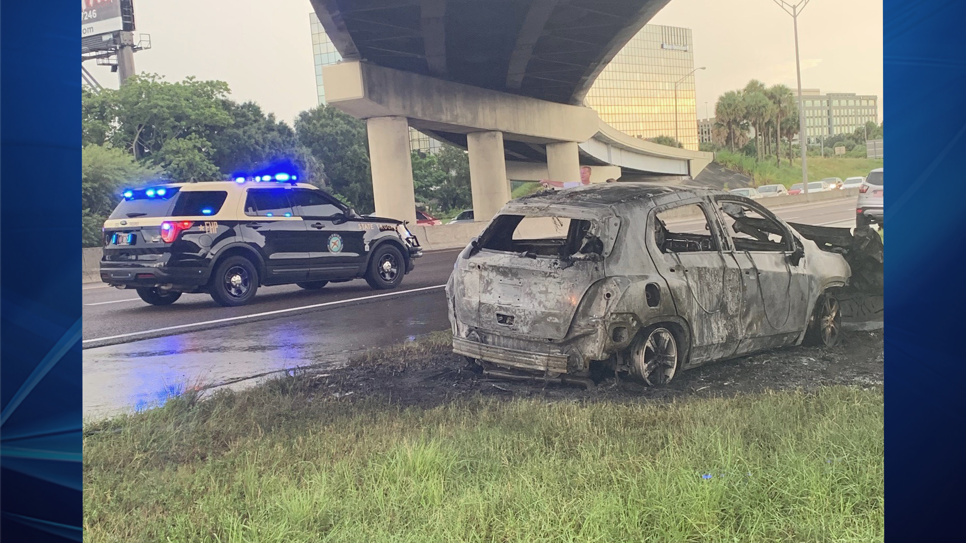 Crash closes I-275 in both directions in Tampa   WFLA