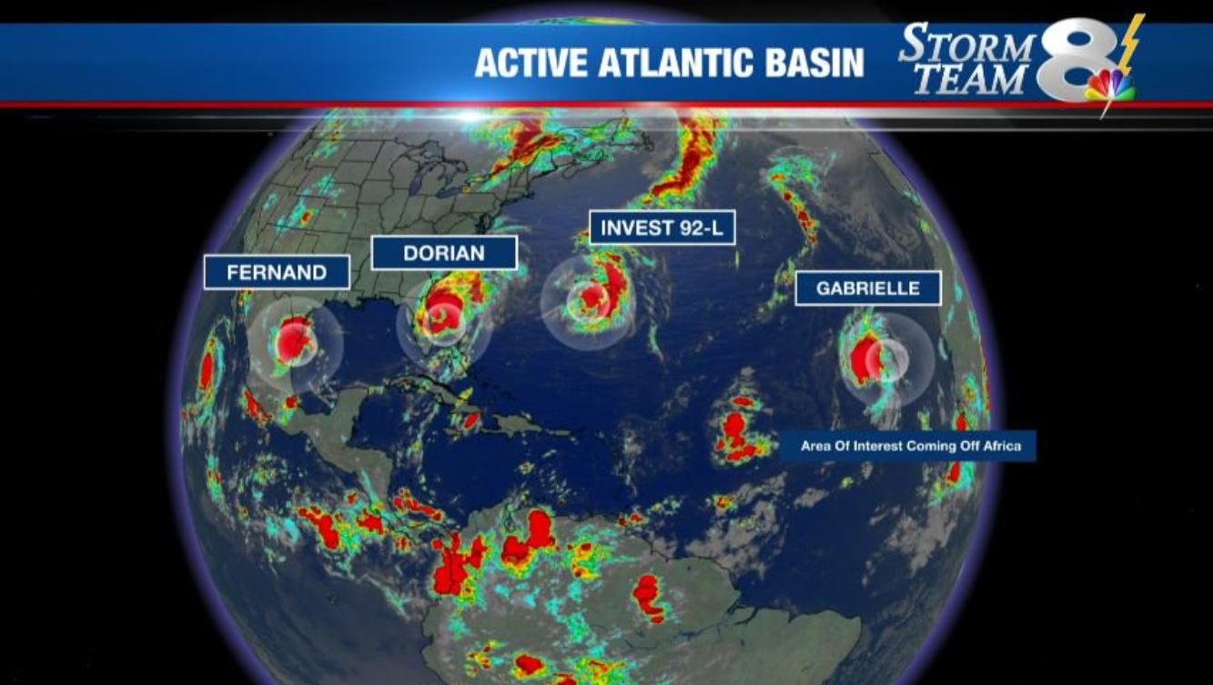 Tropical Storm Gabrielle forms in the Atlantic | WFLA