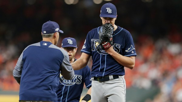 Gerrit Cole dominant again as Astros beat Rays in Game 5, advance to ALCS