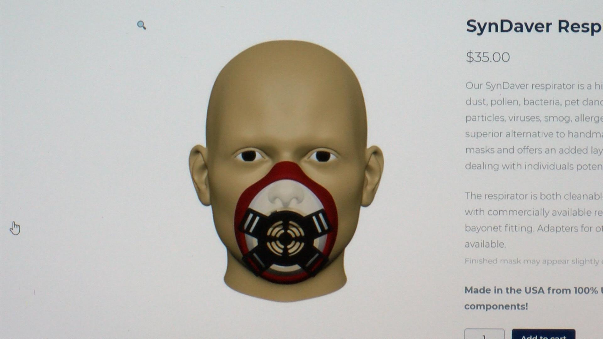 Syndaver respirator