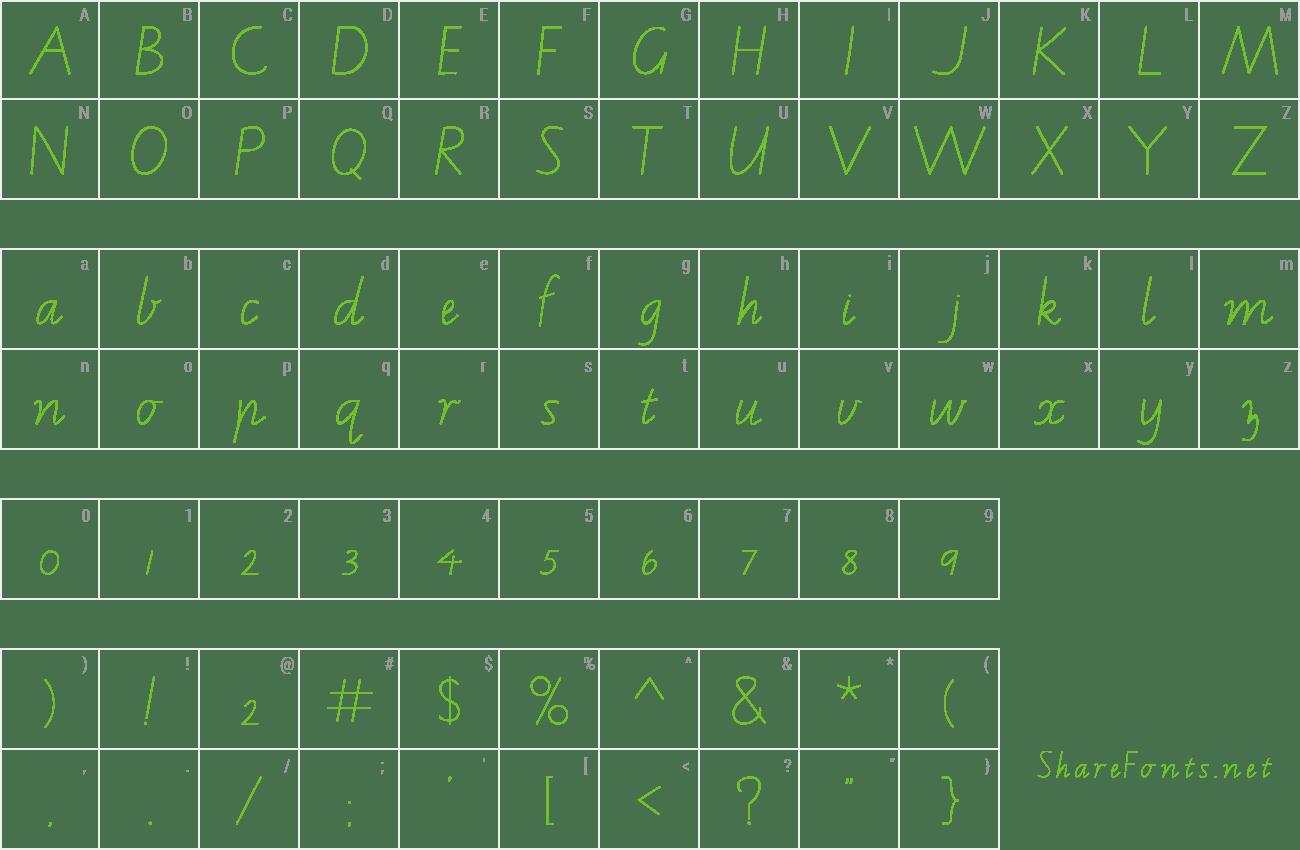 Download Free Font Vic Wa Amp Nt School Handwriting