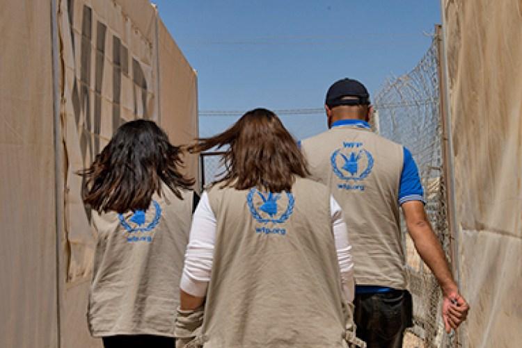 WFP interns