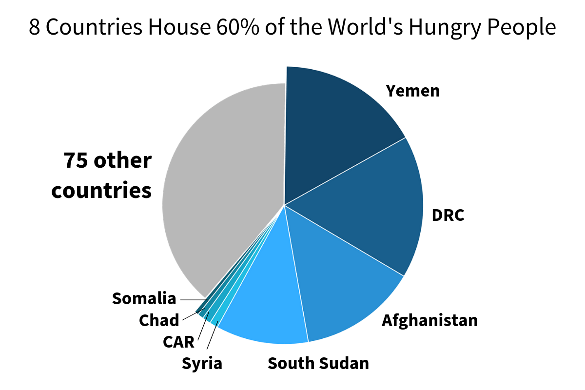 60 Percent Of The World S Hungry Live In Just 8 Countries