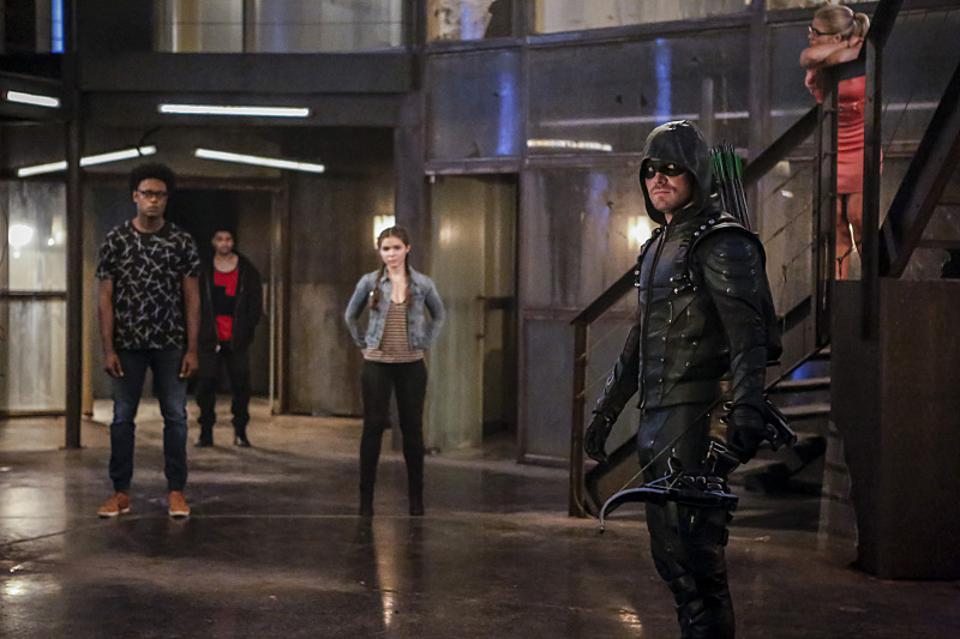 Green Arrow, Season 5 Episode 2 The Recruits