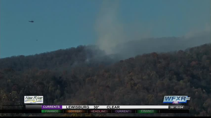 More than 4-400 acres burned in Amherst Co- brush fire_96607470-159532