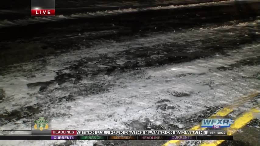 Drivers cautioned to watch out for icy conditions_68655337