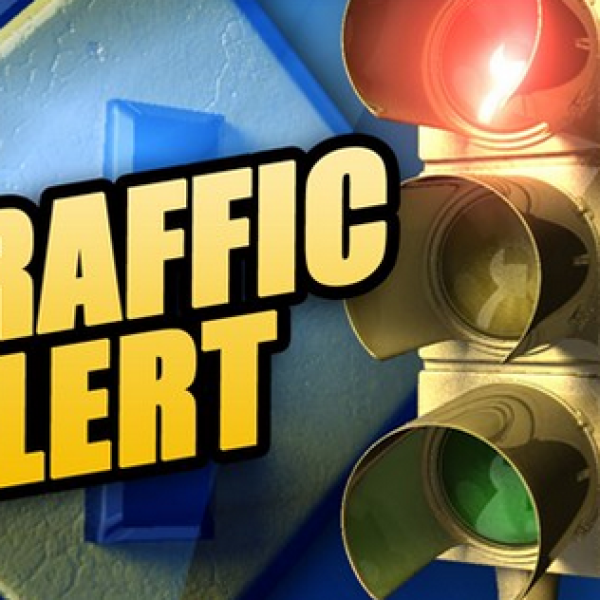 Motorists will face delays on Route 8/Rhiner Road near Route 693/ Childress Road as the electric company crews repairs a power line struck by a vehicle this morning, Nov. 8.