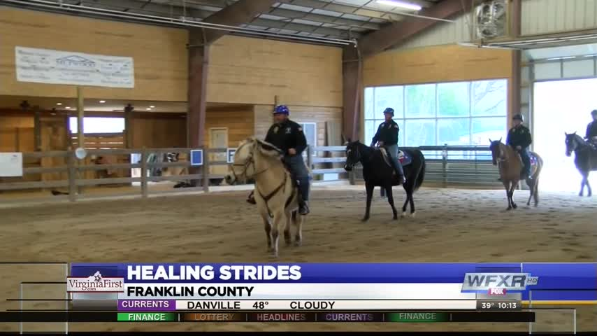 Healing strides for veterans