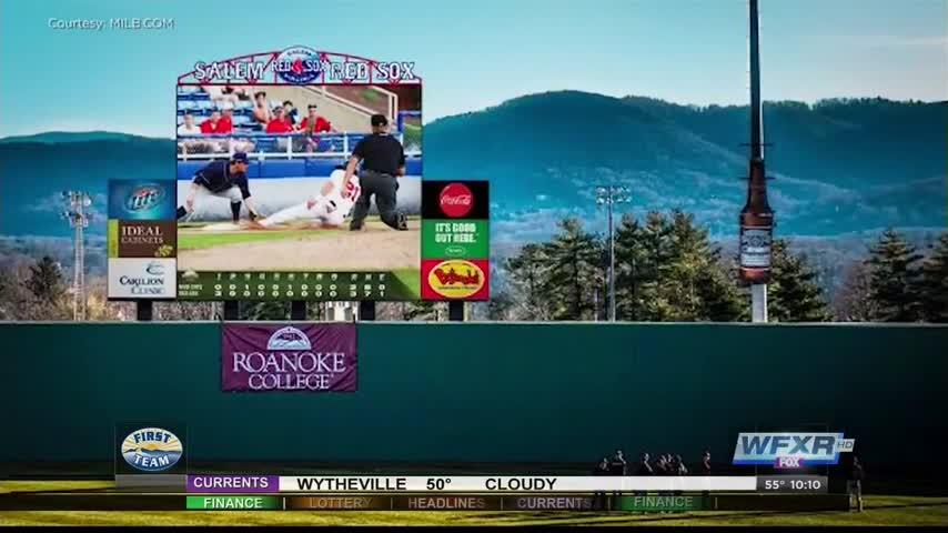 Salem Red Sox get new scoreboard screen
