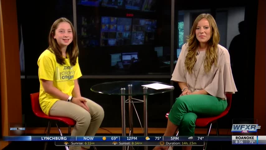 Local teen fights for a cure for Type 1 Diabetes_19191330