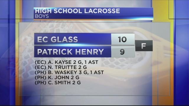 Boys Lacrosse: E.C. Glass vs Patrick Henry