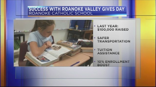 Roanoke Valley Gives Day: Roanoke Catholic School