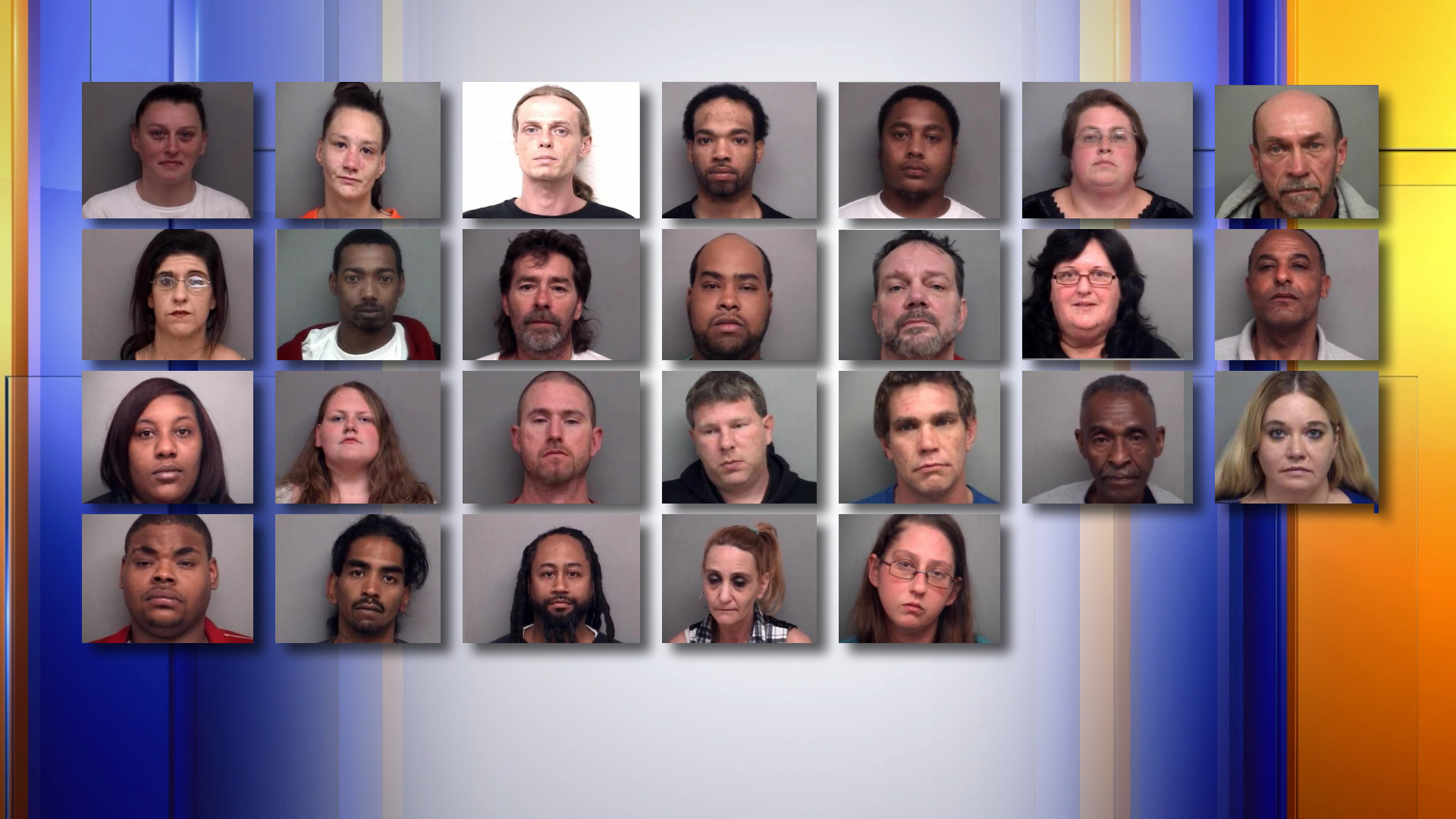 Major drug bust leads to more than 20 arrests