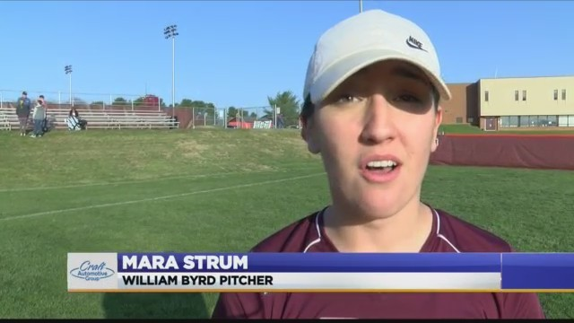 High School Softball: Lord Botetourt vs William Byrd