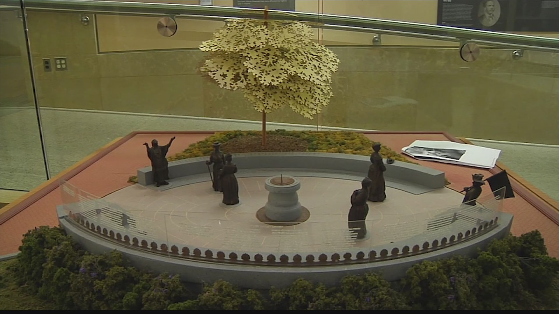Monument honoring Va.'s historic women coming alive at the Capitol