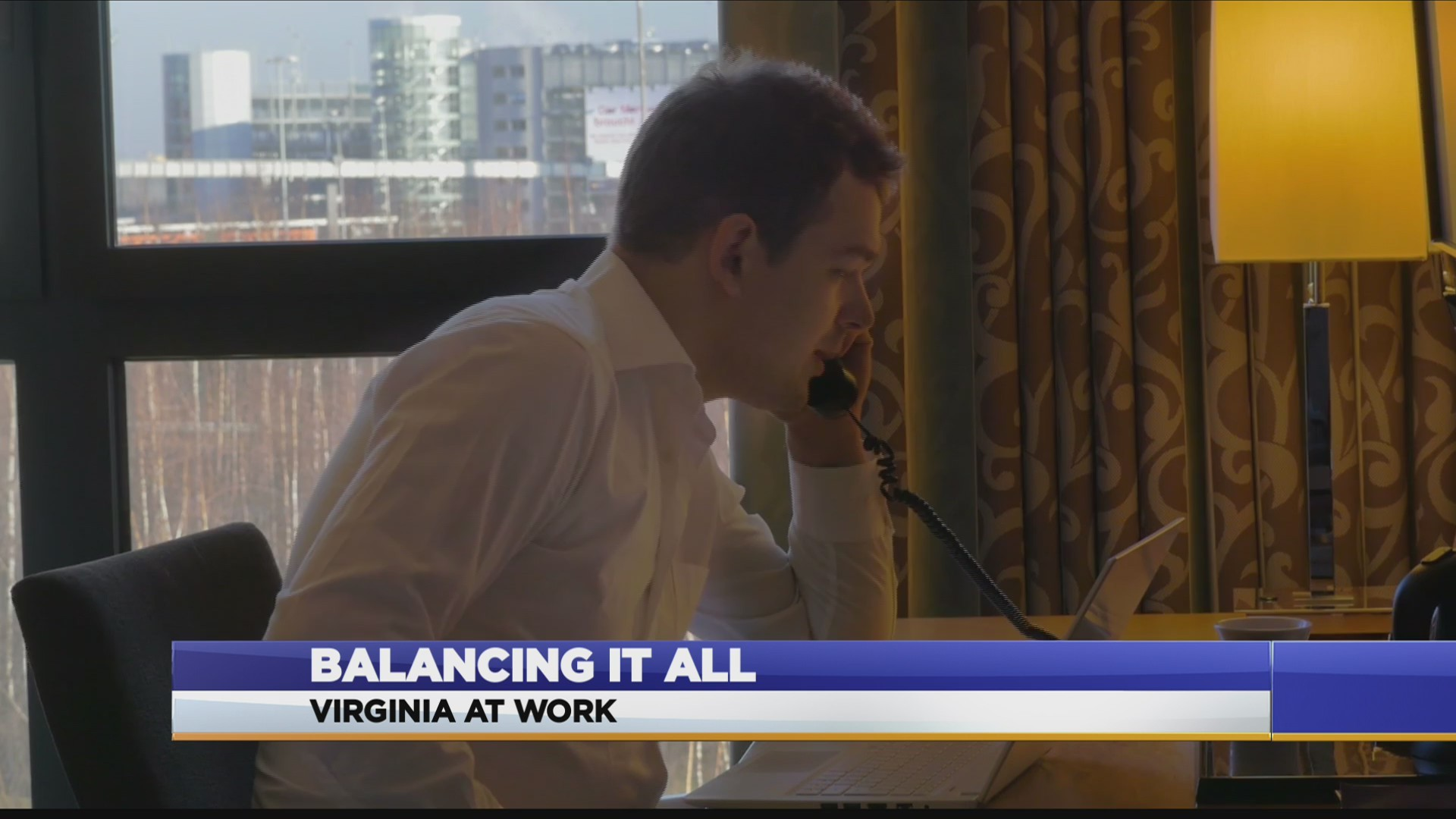 Virginia At Work: How to balance work and home life