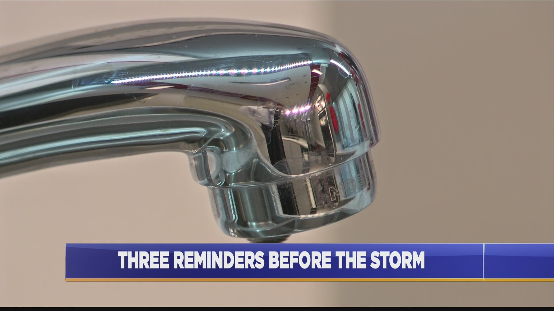 State Farm agent gives three reminders before storm