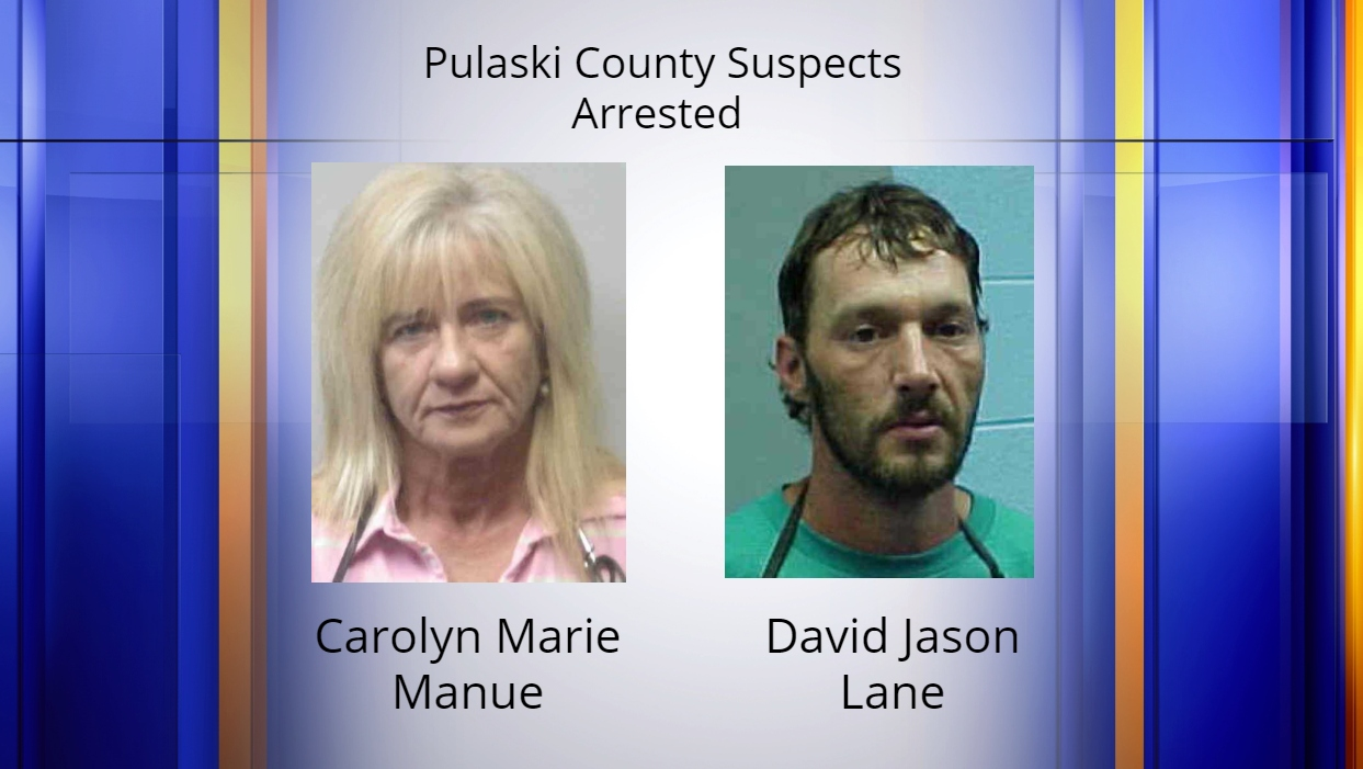 Two Pulaski County suspects arrested after anonymous tip
