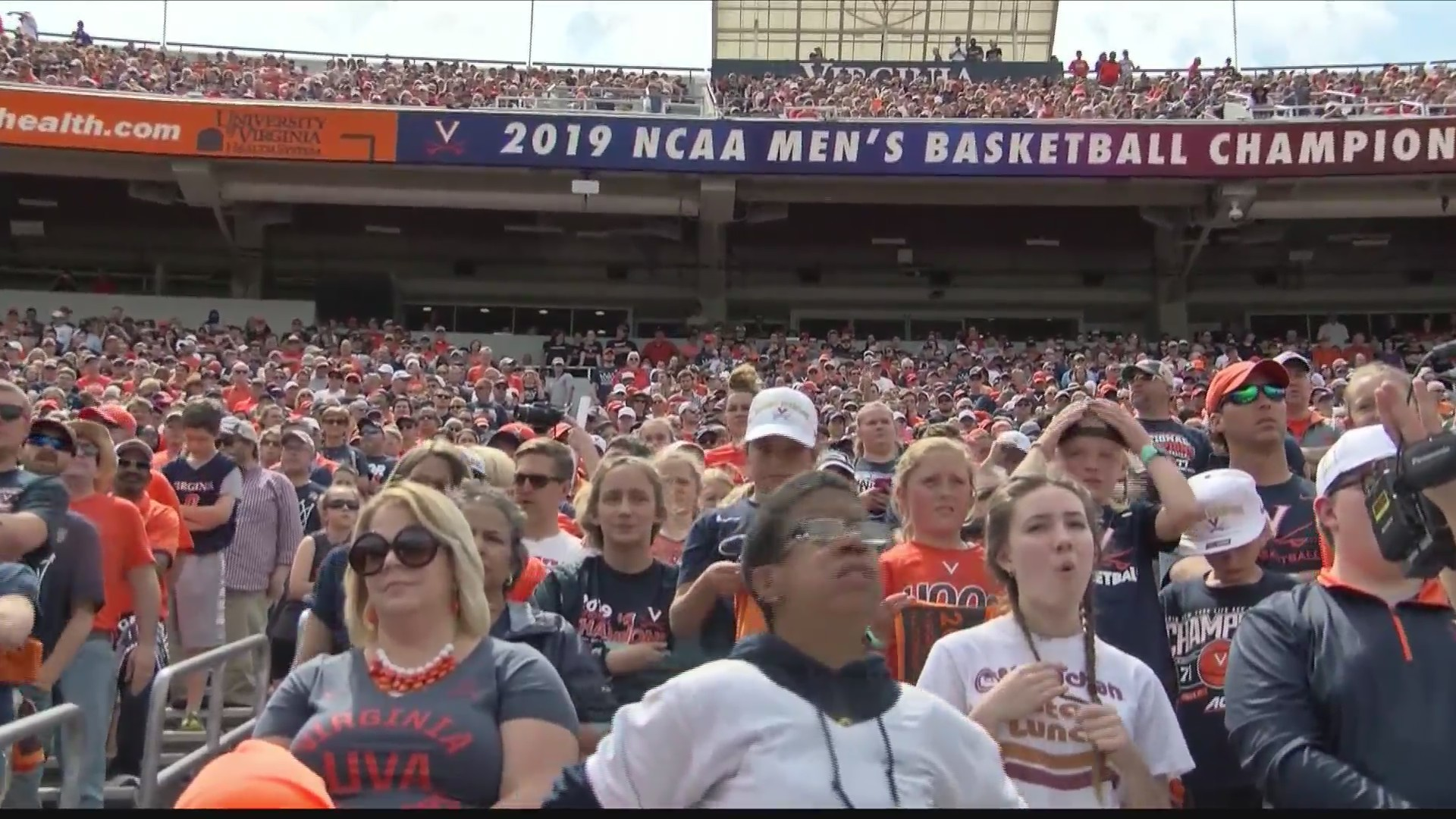 Sights and sounds from UVA's National Championship Celebration
