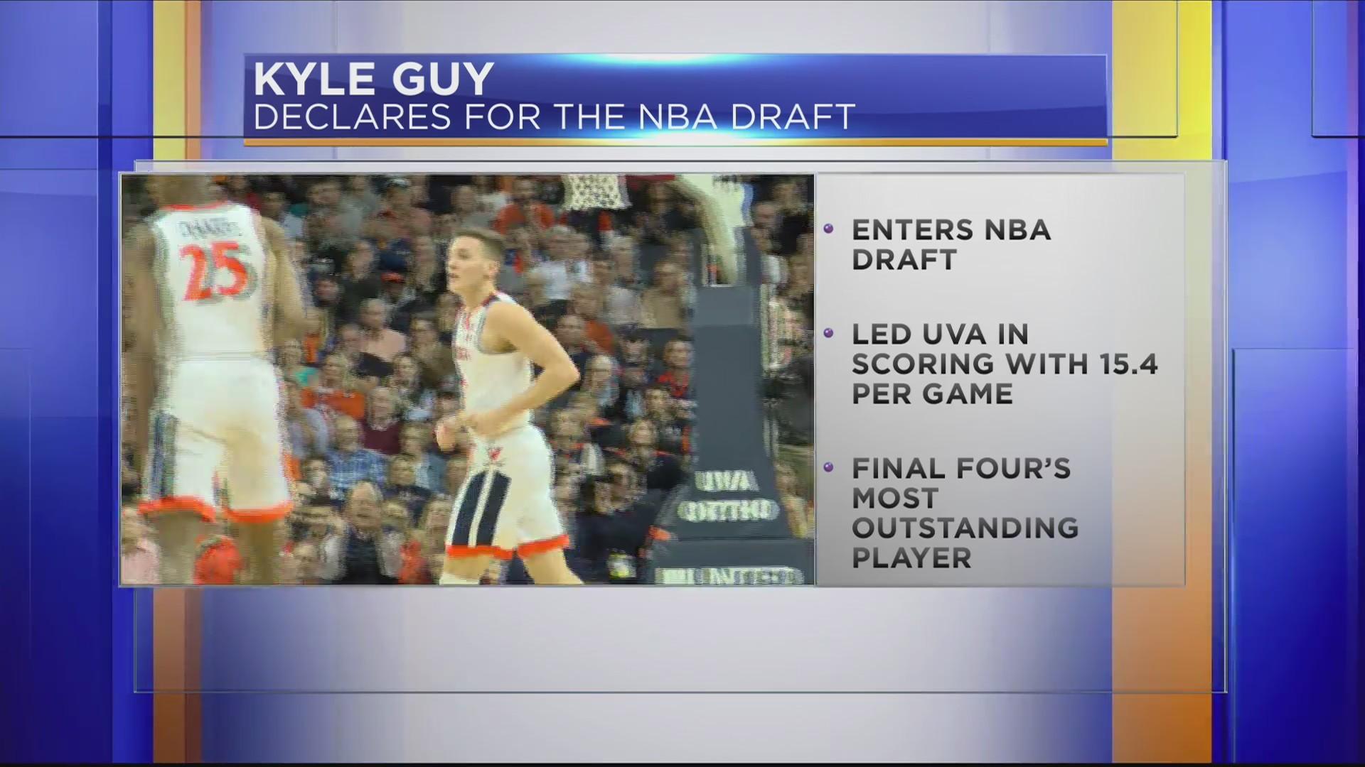 UVA's Kyle Guy to enter NBA Draft