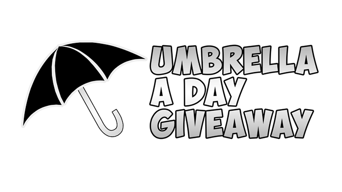 Umbrella a day giveaway