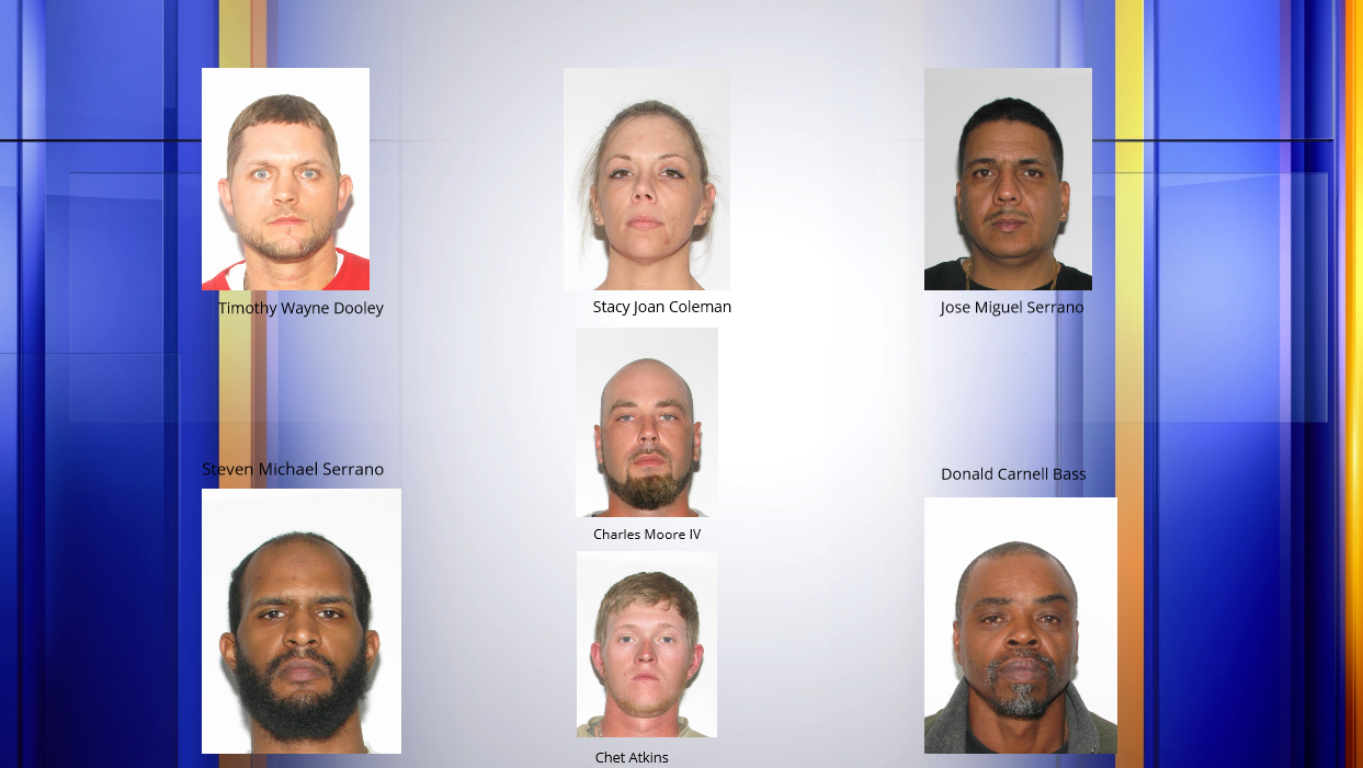 Seven wanted on drug and gun-related charges | WFXRtv com