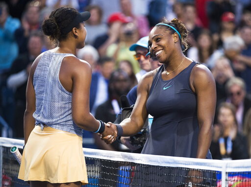 Serena Williams tops Naomi Osaka in rematch at Rogers Cup   WFXRtv com