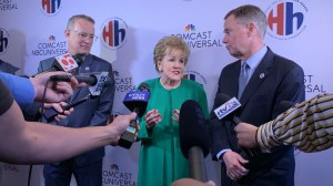Tom Hanks, Elizabeth Dole Honor Veteran Caregivers At Hidden Heroes Campaign Rally