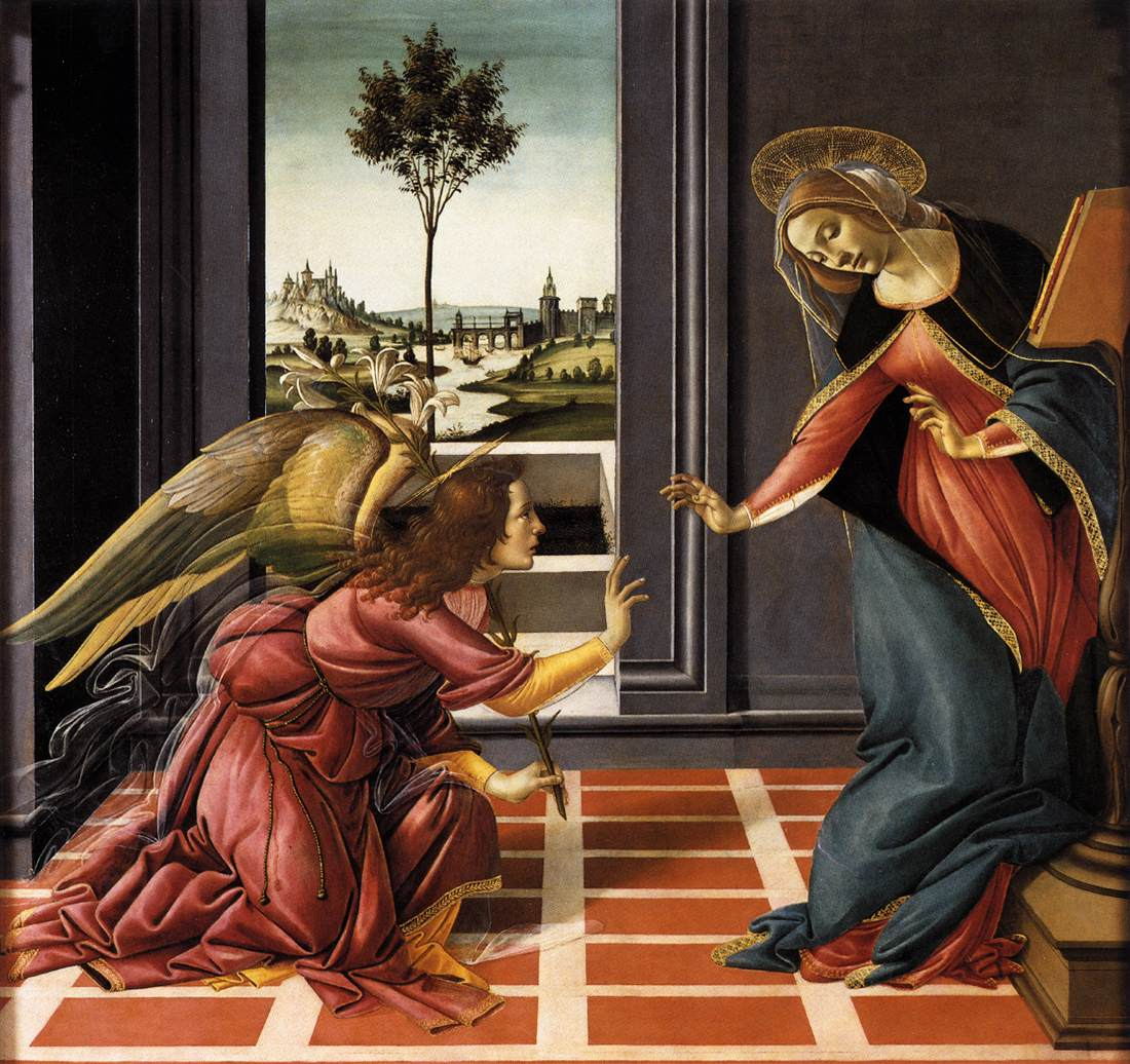 Botticelli, The Annunciation