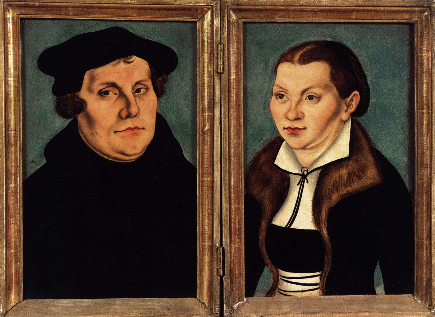 Lucas Cranach And Martin Luther