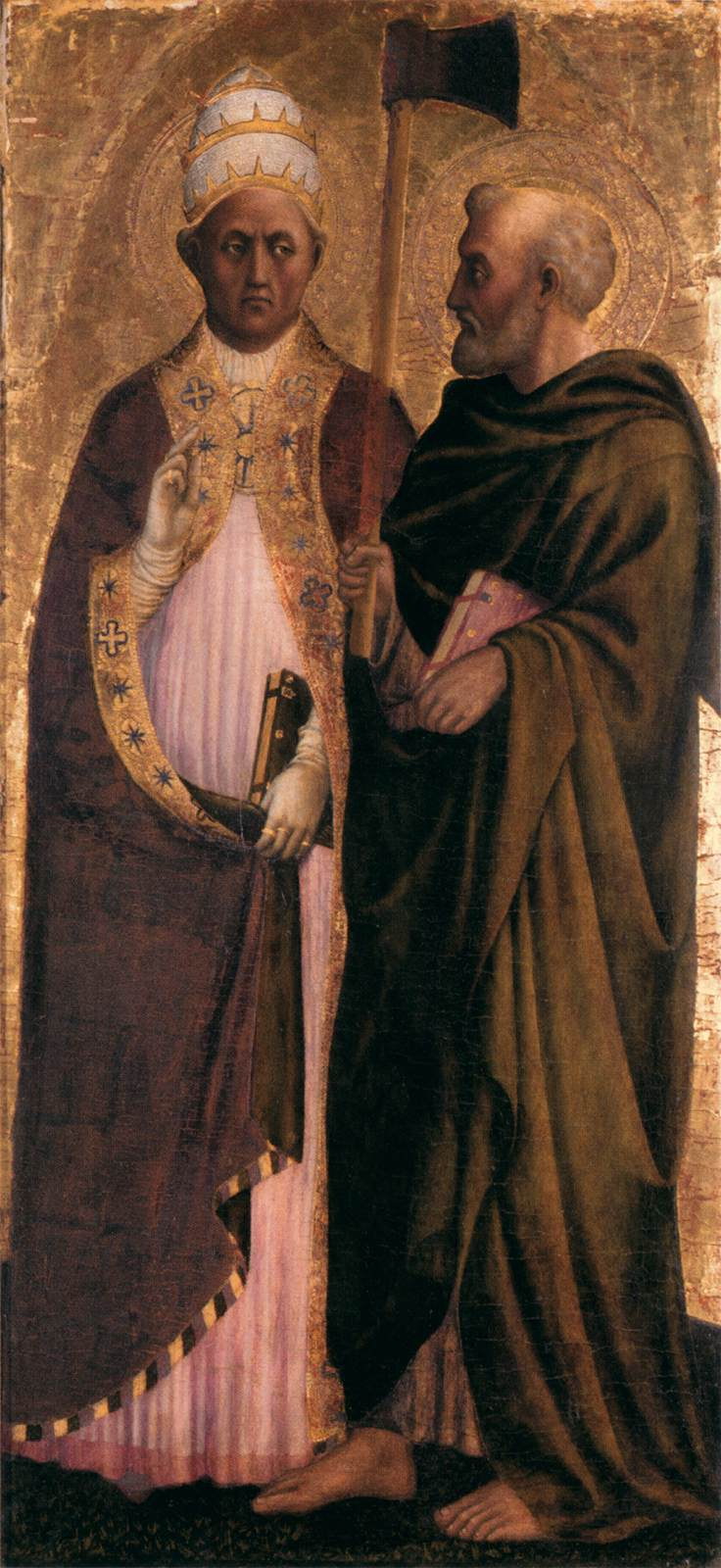 Pope Gregory the Great and St Matthias