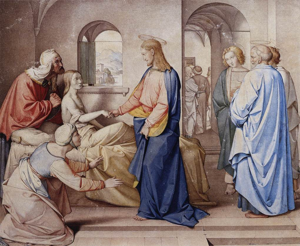 Christ Resurrects the Daughter of Jairus