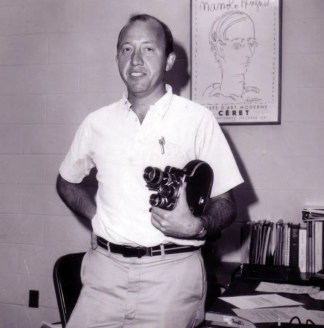 WGBH - Bud Collins beginning a career in sports (tennis) commentary, 1964