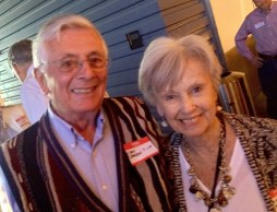 37. Chris Sarson and Judy Mehring (sorry for the focus)