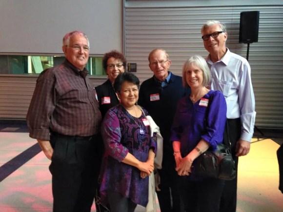 83. Dick Heller, Rachel Ortiz, Susheel Bibbs, Henry Becton, Kate Taylor and Arthur J. Henry.