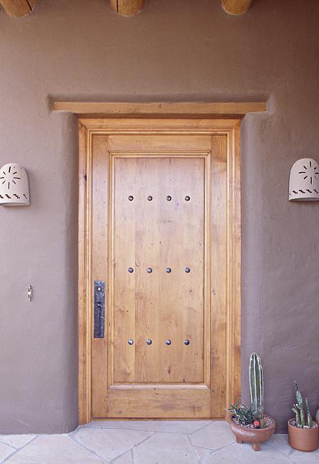 Mexican Style Alder Door WGH Woodworking