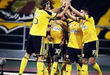 Second-half goals give Qatar SC win <br/> نادي قطر يضمن بقاءه في الدوري بعد فوزه على الخور
