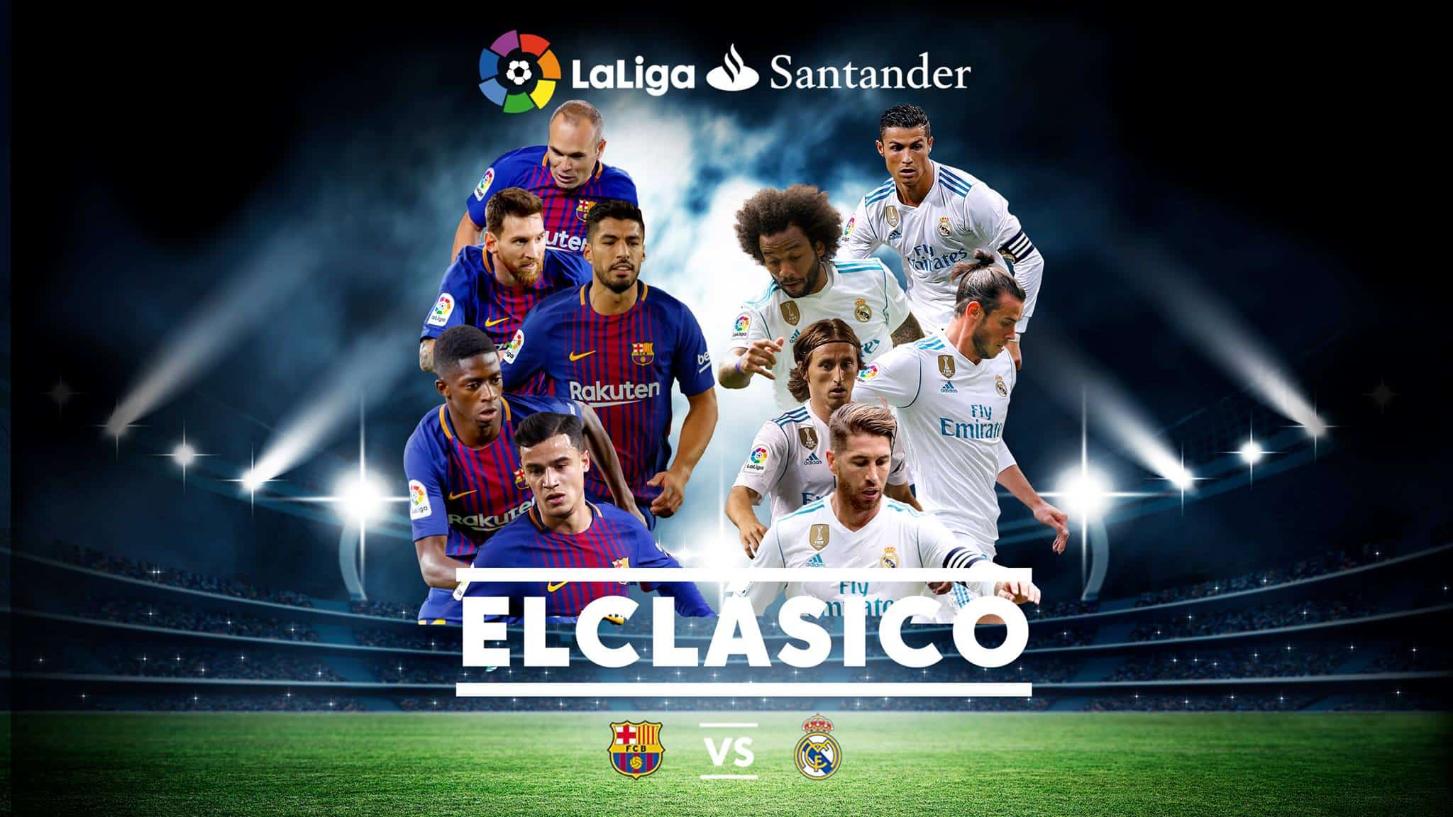ElClasico   FC Barcelona vs Real Madrid